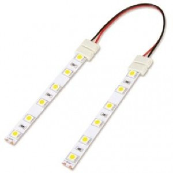 Led strip light accessories led strip light 3528 double end connector mozeypictures Choice Image