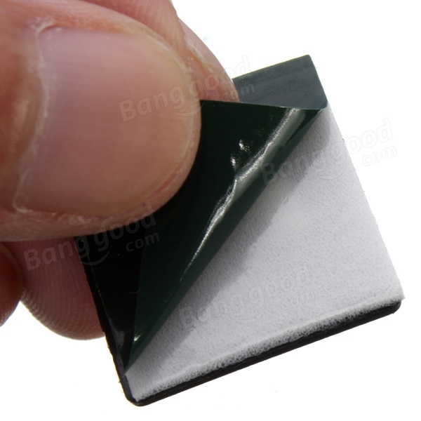 CABLE TIE SQUARE MOUNT 12MM X 12MM STICK-ON